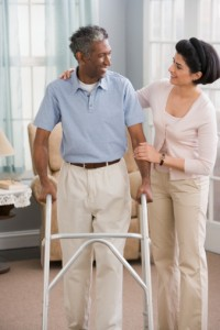 Gait Training with Active In-Home Therapy