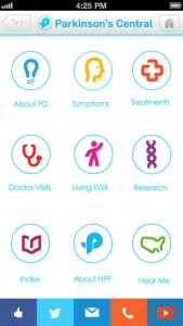 Parkinson's Central app. review
